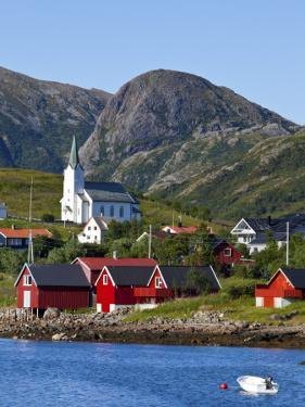 The Harbour Town of Malnes, Vesteralen, Nordland, Norway by Doug Pearson