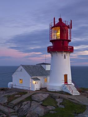 The Idyllic Lindesnes Fyr Lighthouse, Lindesnes, Norway by Doug Pearson