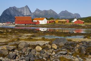 The Old Trading Centre of Kjerringoy, Nordland, Norway, Scandinavia, Europe by Doug Pearson