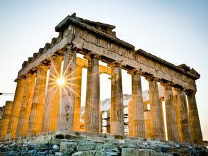 The Parthenon, Acropolis, Athens, Greece by Doug Pearson