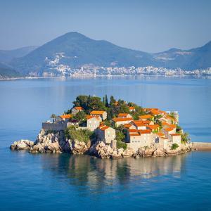 The Picturesque Island Village of Sveti Stephan, Sveti Stephan, Montenegro by Doug Pearson