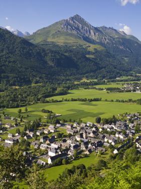 Village D'Aucun and Arrens-Marsous, Hautes-Pyrenees, Midi-Pyrenees, France by Doug Pearson