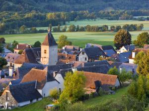 Village D'Aucun, Hautes- Pyrenees, France by Doug Pearson