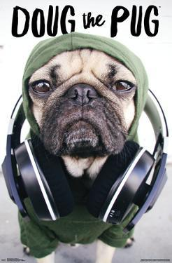 DOUG THE PUG - HEADPHONES