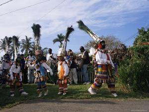Gombey Dancers, Bermuda, Central America by Doug Traverso