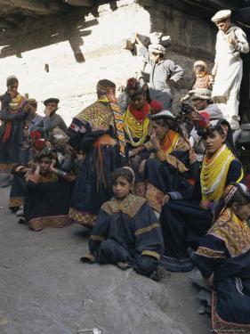 Kalash Women, Bumburet Village, Chitral Valley, Pakistan by Doug Traverso