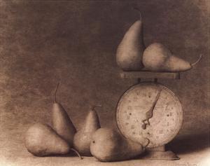Pears with Scale by Doug Van De Zande