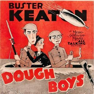 Doughboys, US poster art, Buster Keaton, Sally Eilers, Cliff Edwards, 1930