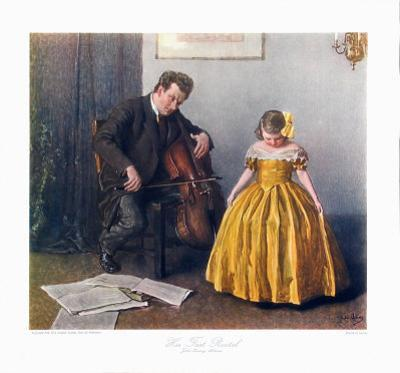 Chaconne Cellist and a Girl