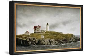 Nubble Light by Douglas Brega