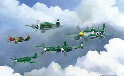 Army Fighters of WWII by Douglas Castleman