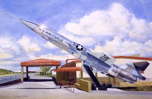 F-104 Star Fighter by Douglas Castleman