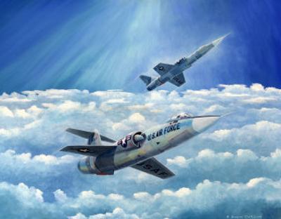 Lockheed Starfighter by Douglas Castleman
