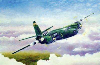 Martin B26 by Douglas Castleman