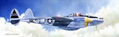 P-38J Lightning by Douglas Castleman