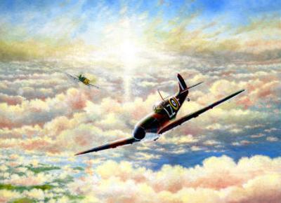 Spitfire MK1 by Douglas Castleman