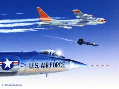 X-15 Launch by Douglas Castleman