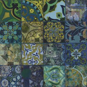 Cobalt Mosaic I by Douglas