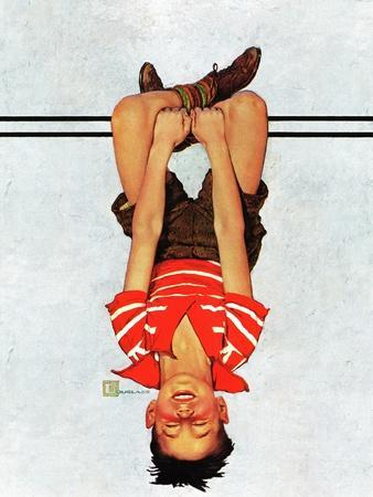 """Hanging Upside Down,"" April 20, 1940"