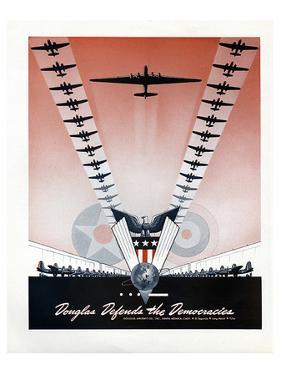 Douglas Defends Democracies