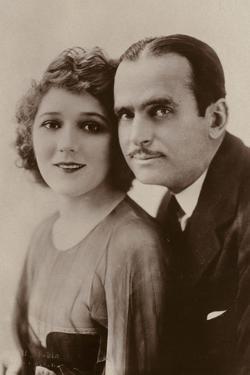 Douglas Fairbanks and Mary Pickford, American Film Actors