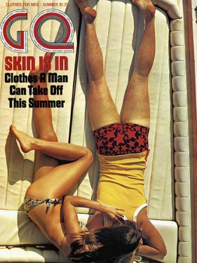 GQ Cover - June 1971 by Douglas Mesney