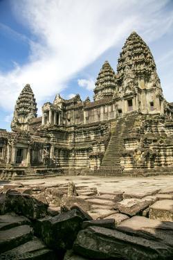 Angkor Wat, Angkor, Cambodia by Douglas Peebles