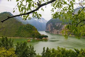 Baidicheng, White Emperor City, Yangtze River, China by Douglas Peebles