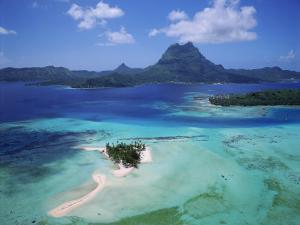 Bora Bora, French Polynesia by Douglas Peebles