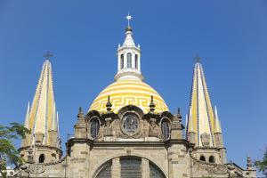 Cathedral on Liberacion Square, Guadalajara, Jalisco, Mexico by Douglas Peebles