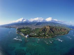Diamond Head, Honolulu, Oahu, Hawaii, USA by Douglas Peebles