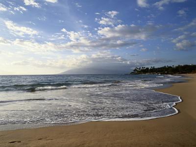 Hawaii Islands, Maui, View of Wailea by Douglas Peebles
