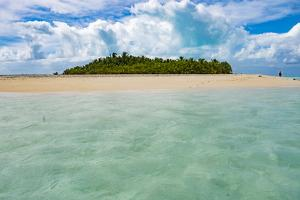 Honeymoon Island, Aitutaki, Cook Islands, South Pacific by Douglas Peebles