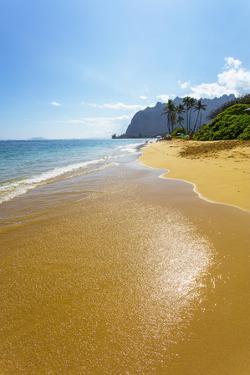 Kaaawa, Beach, Windward, Oahu, Hawaii by Douglas Peebles