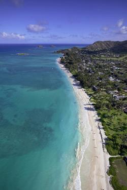 Kailua Beach, Oahu, Hawaii, USA by Douglas Peebles