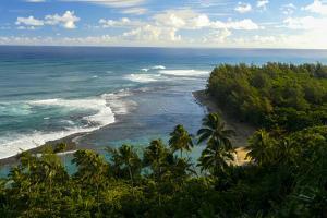 Ke'e Beach, Napali Coast, Haena, State Park, Kauai, Hawaii by Douglas Peebles