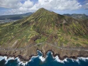 Koko Crater, Oahu, Hawaii by Douglas Peebles