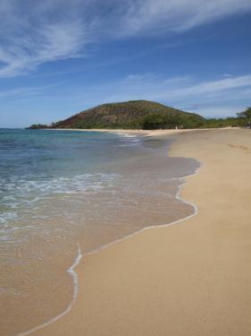 Makena Beach, Oneloa, Big Beach, Maui, Hawaii, USA by Douglas Peebles