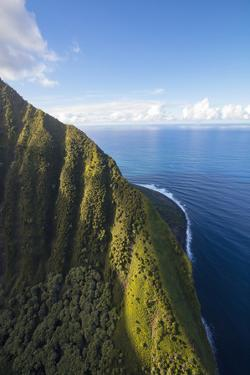 Papalaua Valley, North Shore, Molokai, Hawaii by Douglas Peebles
