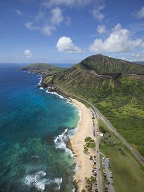 Sandy Beach, Koko Crater, Honolulu, Oahu, Hawaii by Douglas Peebles