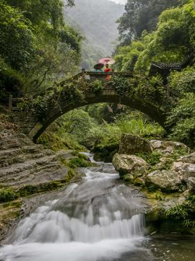 Shennong Stream, Hubei Province, Yangtze River, China by Douglas Peebles