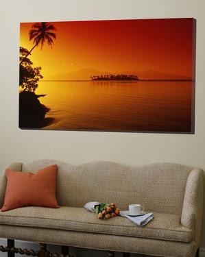 Sunset, Moorea, French Polynesia by Douglas Peebles