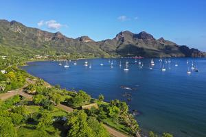 Taiohae, Nuku Hiva, Marquesas, French Polynesia, South Pacific by Douglas Peebles