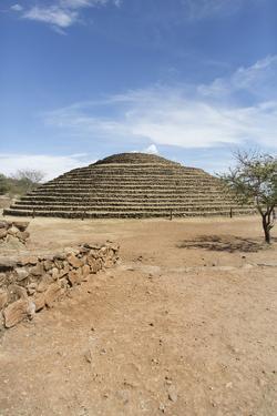 The Iguana Pyramids of Guachimontones, Teuchitlan, Jalisco. Mexico by Douglas Peebles