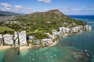 Waikiki, Oahu, Hawaii by Douglas Peebles