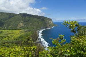 Waipio Valley, Hamakua Coast, Big Island, Hawaii, USA by Douglas Peebles