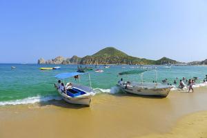 Water Taxi, Medano Beach, Cabo San Lucas, Baja, Mexico by Douglas Peebles
