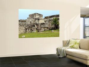 Castle at Tulum Ruins by Douglas Steakley