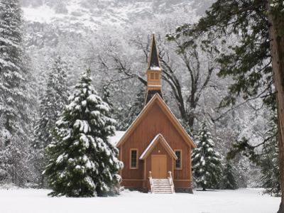 Church in Winter by Douglas Steakley