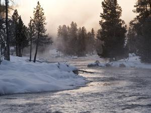 Firehole River by Douglas Steakley